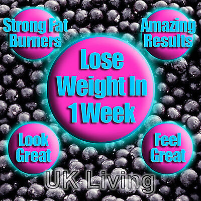 Very Strong Diet Slimming Pills Tablets Lose Loss Weight Acai Berry