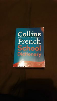 Collins French School Dictionary by HarperCollins Publishers (Paperback, 2006)