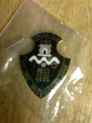 national westminster bank bowling club badge