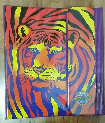 Lisa Frank Tiger Tri Fold Binder