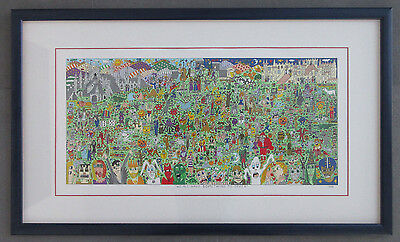 """James Rizzi  """"WE ALL HAVE SOMETHING TO OFFER """" 1998"""