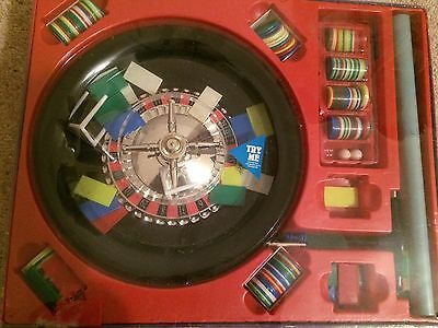 Roulette Game With Wheel, Chips And Mat