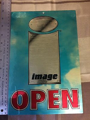 Image comics office open closed sign