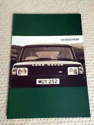 Land Rover Discovery brochure - 1995