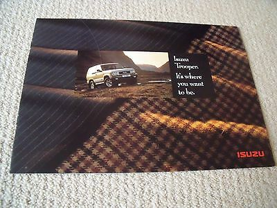 Isuzu Trooper brochure - 1992