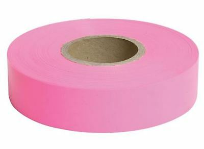 Dymark Survey High Quality Durable Flagging Tape Size 25mm x 100m Pink NEW
