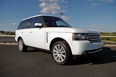 2012 Land Rover Range Rover V8 Supercharged 2012 Range Rover Supercharged Immaculate One Owner Extremely Nice!