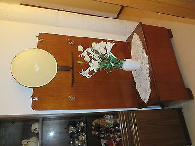 Art deco, vintage, hall stand with storage