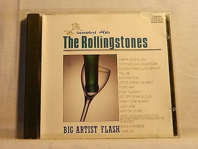 The Rolling Stones  Greatest Hits Japan Cd Big Artist Flash
