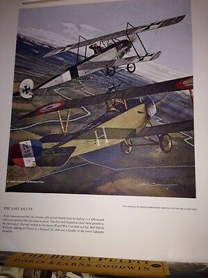 2 1961 Leach Corporation Heritage Of The Air WWI Fighter Planes