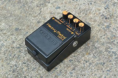 1988 Boss HM-2 Heavy Metal Distortion MIT Vintage Effects Pedal