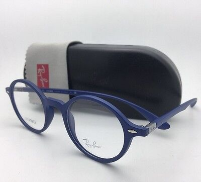 e35c44f258 New RAY-BAN Eyeglasses LITEFORCE RB 7069 5439 46-22 145 Matte Blue Frames