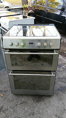 STOVES 61EDO 60cm DOUBLE OVEN CERAMIC ELECTRIC COOKER IN GOOD  WORKING ORDER