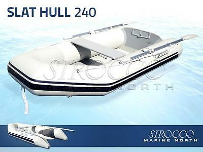 Inflatable Boat SIROCCO SLAT HULL 240 2017, Brand New TENDER / DINGHY  2.4m