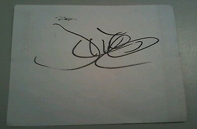 Justin Trudeau Autograph Paper In-person Canada Prime Minister Signed inscribed