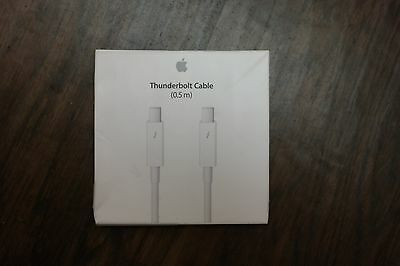 Genuine Apple Thunderbolt Cable (0.5m) White MD862ZM/A