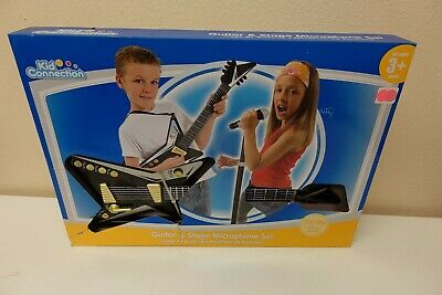 Kid Connection Guitar and Stage Microphone Set New (CC-03)