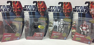 STAR WARS Movie Heroes Figures Collection Lot MIB Sealed Hasbro