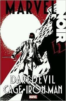 NEW Marvel Noir: Daredevil/Cage/Iron Man graphic novel comic