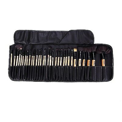 Professional Cosmetic Make Up Brush Set with Case 32 pcs Toiletry Kit
