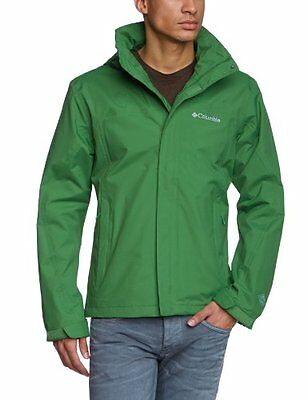 Verde (350) (TG. Small) Columbia Mission Air II Giacca, Uomo, Verde (350), S
