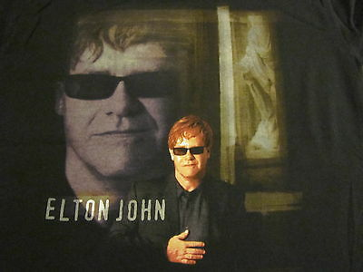 ELTON JOHN Songs From The West Coast 2 sided concert tour photo shirt (cd album)