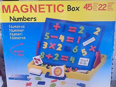 NEW Wishtime Magnetic Numbers Box