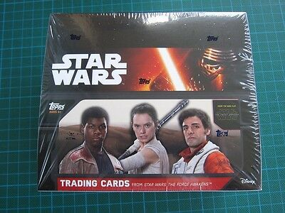 Topps Star Wars: The Force Awakens Series 1 (2015) - Special Hobby Box (Sealed)