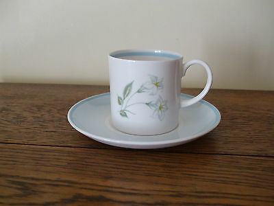 VINTAGE SUSIE COOPER 1 x Coffee Cup and saucer