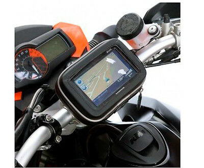 "5.8"" Motorcycle Bag Case Cover Zipper Waterproof Mount Holder For GPS Series New"