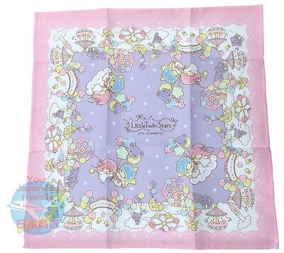 SANRIO Little Twin Stars KAWAII Bento square Lunchbox Cloth  AIRMAIL JAPAN