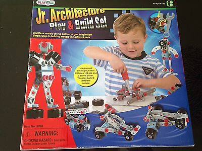 Children's Meccano-style Build And Play Set.Instructions To Build 6 Models. 6+