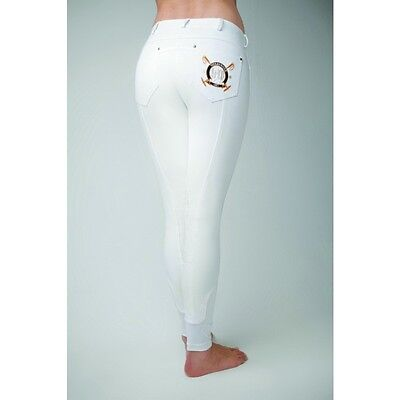 Horseware Newmarket Ladies Belle Breeches **CLEARANCE*** WHITE