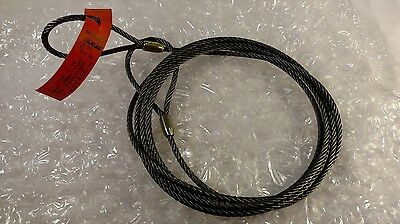 Permaloc liftall wire rope sling 12ft 1/4in dia lifting harness material new