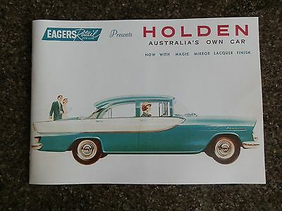 1960 Holden Fb Sales Brochure  100% Guarantee