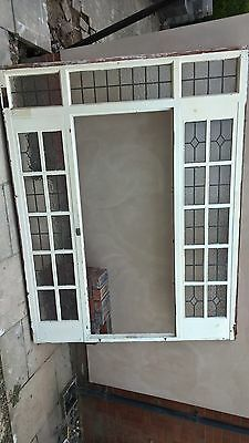 vintage 1930's door and frame reclaimed