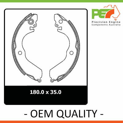 New Genuine *PROTEX* Brake Shoes - Rear For MITSUBISHI LANCER CC, CE 4D Wgn FWD.