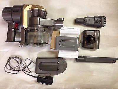 Dyson DC16 Motorhead Handheld Vacuum Cleaner. New battery Charger & accessories