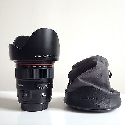 Canon EF 24mm f1.4L II USM comme neuf