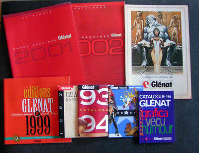 Lot Catalogues BD : Glénat