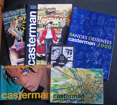 Lot Catalogues BD : Casterman
