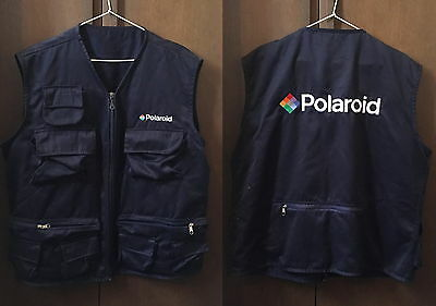 collectionneur vend  gilet multipoches POLAROID genuine