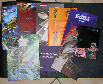 Lot Catalogues BD : Delcourt