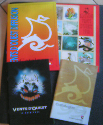 Lot Catalogues BD : Vents d'Ouest