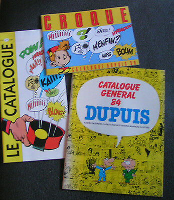 Lot Catalogues BD : Dupuis