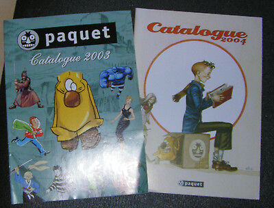 Lot Catalogues BD : Paquet