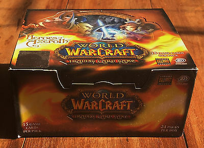 Heroes Of Azeroth Booster Box - Upper Deck / World Of Warcraft