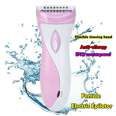 Rechargeable Electric Lady Shaver Wet Dry Hair Bikini Line Cordless Remover C52