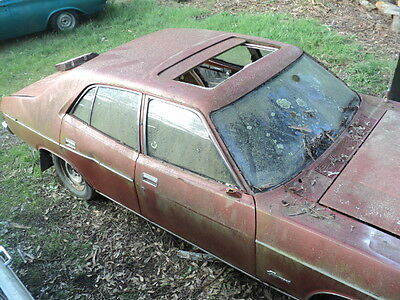 ford xb fairmont rolling shell with  factory golde sunroof fit xr xt xw xy xa xc