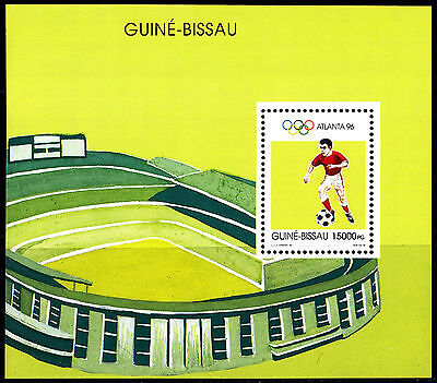 Guinea-Bissau. Olympic Games 1996. Football. Ss** Rare!